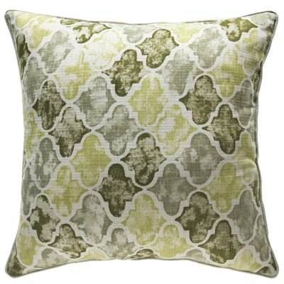 Moroccan Throw Pillow Color: Moss/Sage/Olive