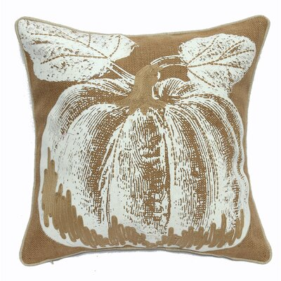 Pumpkin Printed Throw Pillow