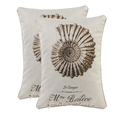Conch Shell Lumbar Pillow