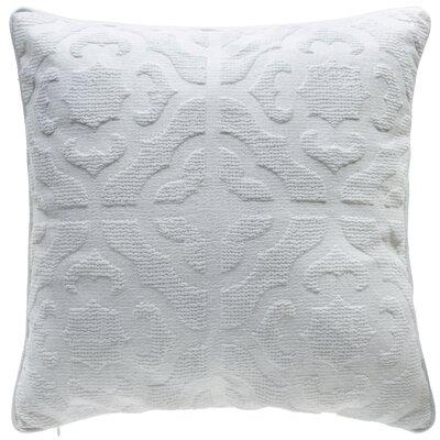 Oak Lane Mosaic Throw Pillow Color: Cotton