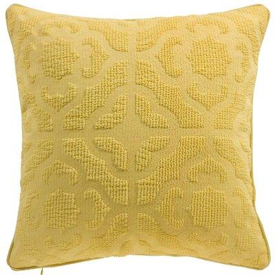 Oak Lane Mosaic Throw Pillow Color: Sunshine