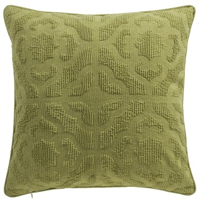 Oak Lane Mosaic Throw Pillow Color: Moss