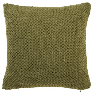 Shant Throw Pillow Color: Moss
