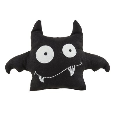 Bat Crazy Throw Pillow