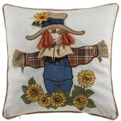 Valenzuela Scarecrow Throw Pillow