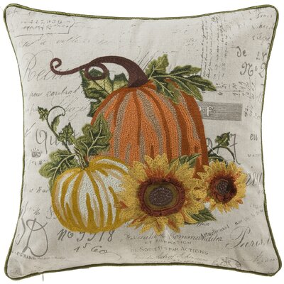 Cory Perfect Fall Pumpkin Throw Pillow