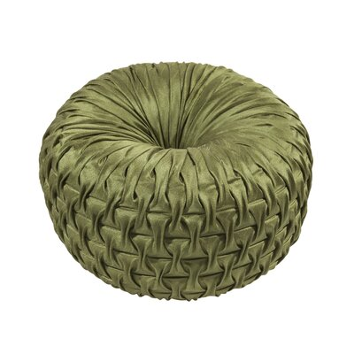 Ruched Throw Pillow Color: Peridot