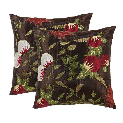 Armentrout Floral Throw Pillow