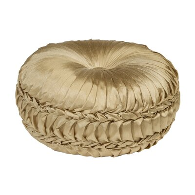Acamar Tufted Round Floor Pillow Color: Bamboo