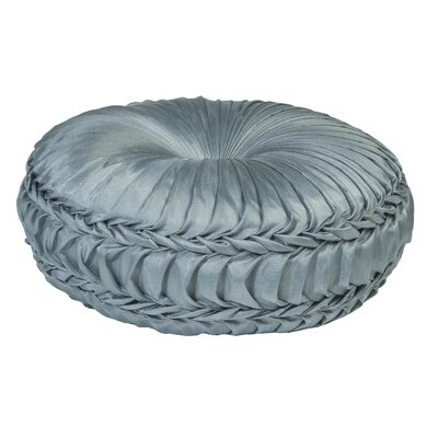 Acamar Tufted Round Floor Pillow Color: Gray