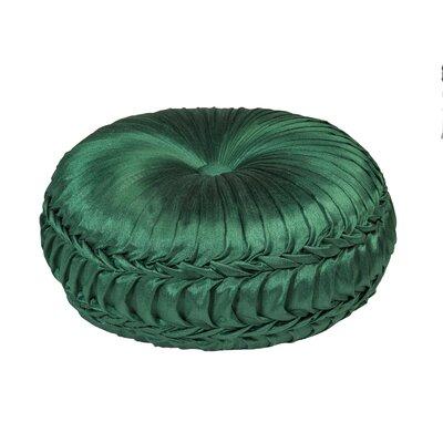 Acamar Tufted Round Floor Pillow Color: Moss