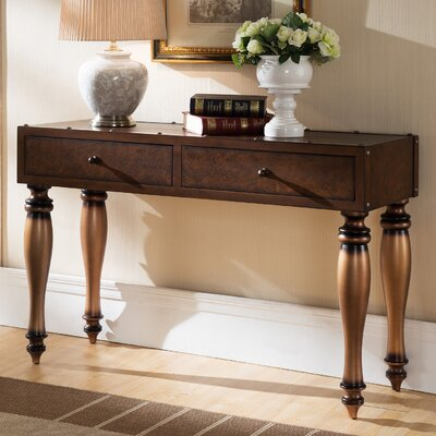 Gilded Classics Console Table