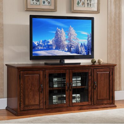 Leaded Glass 60 TV Stand