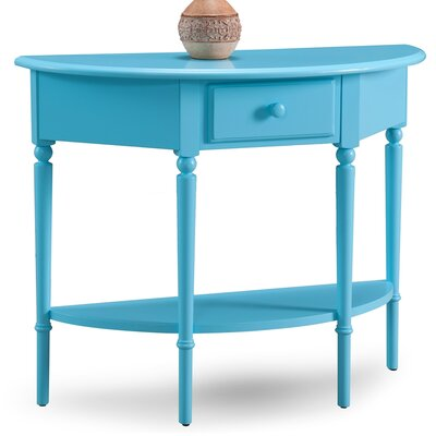 Coastal Notions Console Table Finish: Regatta Blue
