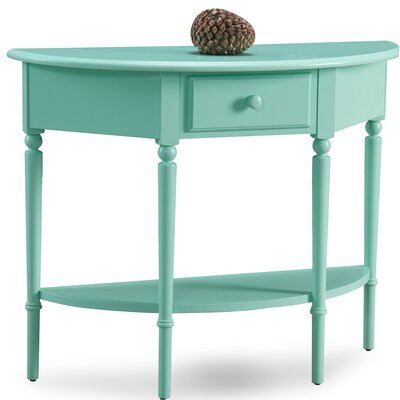 Coastal Notions Console Table Finish: Kiwi Green