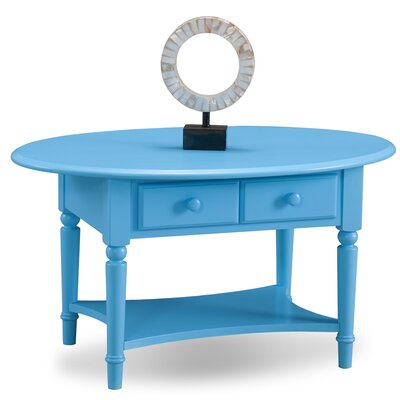 Coastal Notions Coffee Table Finish: Regatta Blue