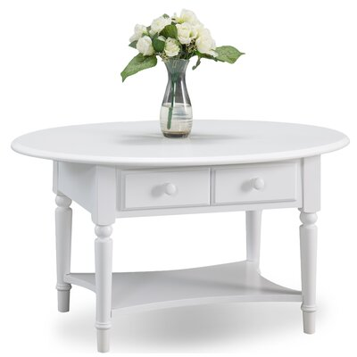 Coastal Notions Coffee Table Color: Orchid White