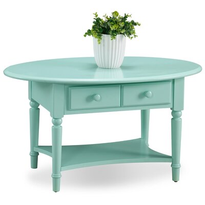 Coastal Notions Coffee Table Finish: Kiwi Green