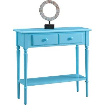 Coastal Notions Console Table Finish: Regatta Blue