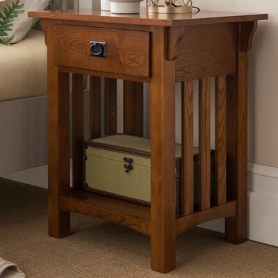 El Cerrito Mission Impeccable 1 Drawer Nightstand