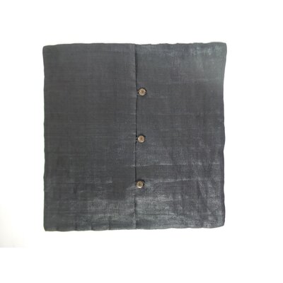 Felica Linen Pillow Cover Color: Dark Gray