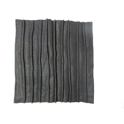 Adelaida Linen Pillow Cover Color: Black