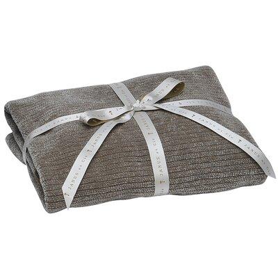 Chesapeake Throw Blanket Color: Platinum