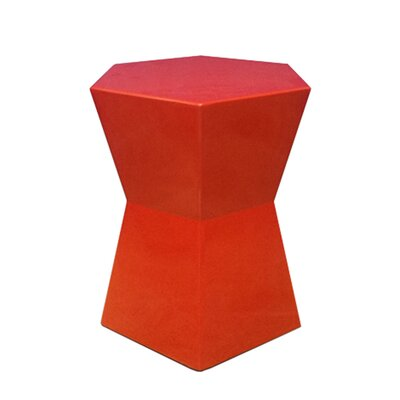 Facet End Table