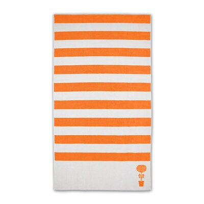 Cabana Beach Towel Color: Coral