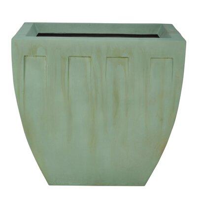"""Square Decorative Planter Color: Aged Bronze, Size: 33"""" H x 35"""" W x 30"""" D 640-20-836-41-00"""