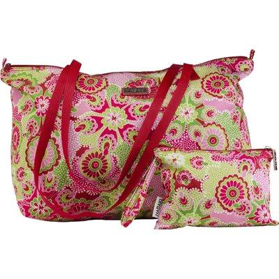 HADAKI Lagniappe Tote Bag - Color: Ruby