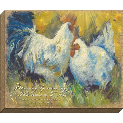 Morning By Morning Giclee Painting Print On Wrapped Canvas