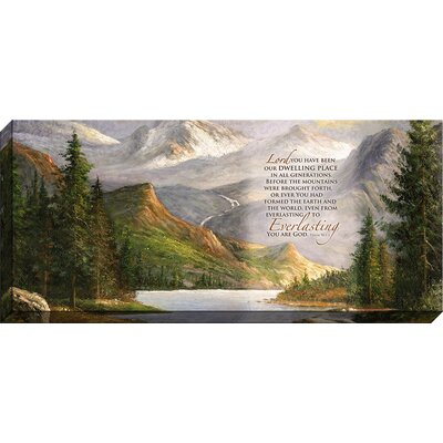 Lord, You Have Been Giclee Painting Print On Wrapped Canvas