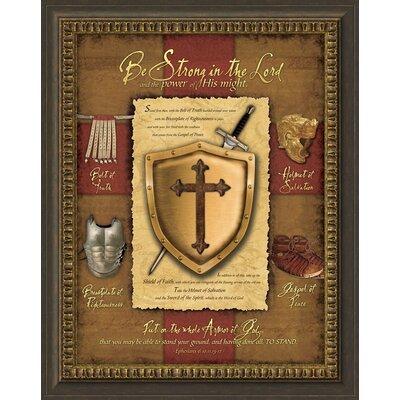 Armor of God Framed Picture