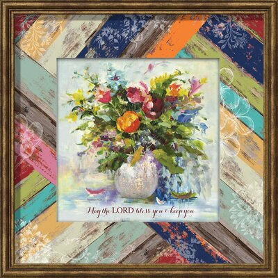 May The Lord Bless You Framed Painting Print