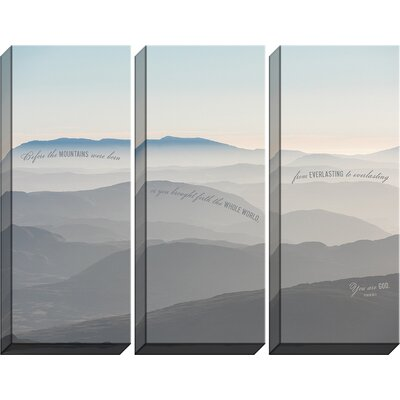 'You Are God' Graphic Art Print Multi-Piece Image on Canvas
