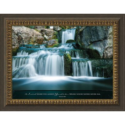 'The Lord Will Guide You Always' Framed Photographic Print
