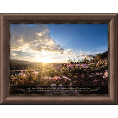 'The Lord Bless You And Keep You' Framed Photographic Print