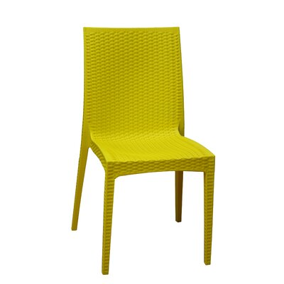 Dining Side Chair Finish: Yellow