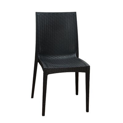 Dining Side Chair Finish: Black