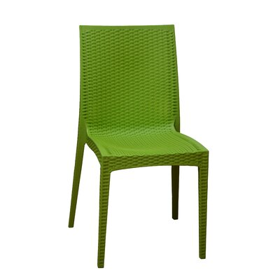 Dining Side Chair Finish: Green