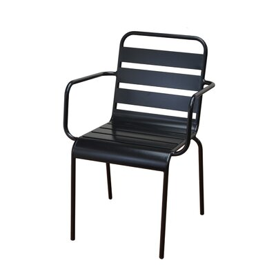 DHC Furniture Stacking Patio Dining Chair