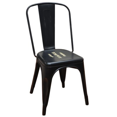 Stackable Steel Tolix Side Chair
