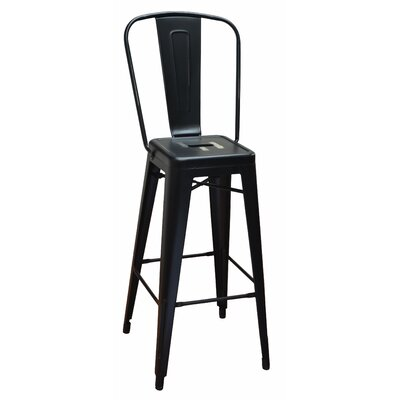 Bar Stool Finish: Black