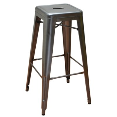 Bar Stool Finish: Silver