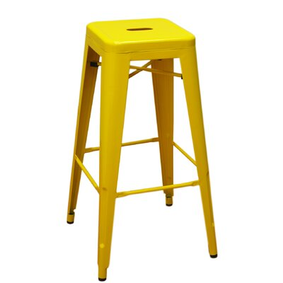 Bar Stool Finish: Yellow