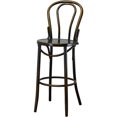 Industrial Antique Copper 30.5 Bar Stool
