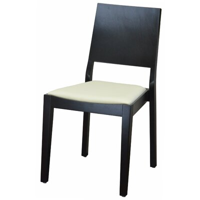 Modern Style Stacking Upholstered Dining Chair Upholstery: Moonstone
