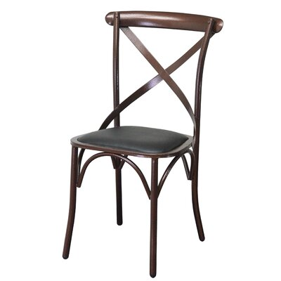 Unique X Back Dining Chair