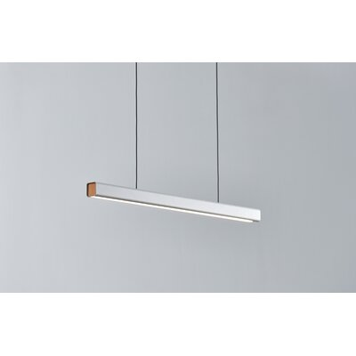 Mumu Billiard 1-Light LED Pool Table Light Finish: White